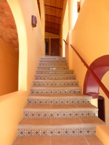 Stairs to guest floor